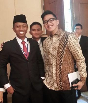 Jokowi hadiri Wisuda Kaesang