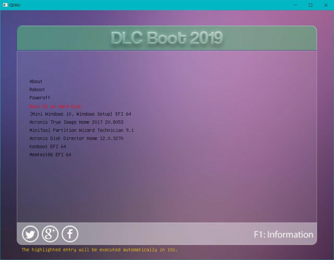 Cách tạo USB Boot bằng DLC Boot 2019 v3 6 mới nhất
