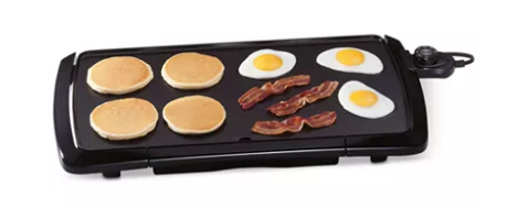 MACYS -Presto 07030 Griddle, Jumbo Cool Touch $9.99 After $10 Mail-In Rebate