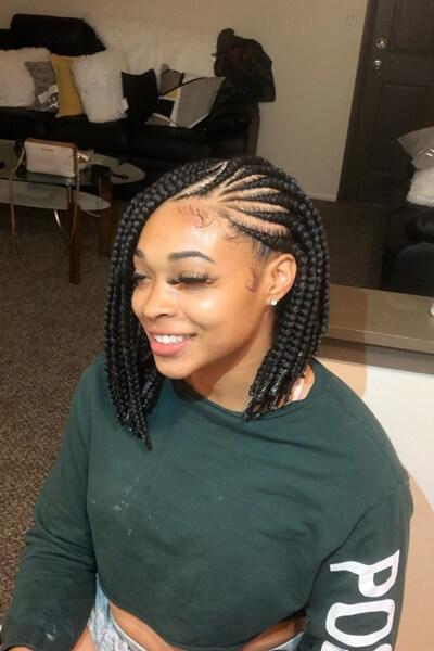 23 Best Lemonade Bob Box Braids Hairstyles For women In 2020