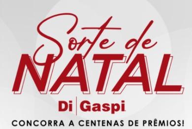 Cadastrar Promoção Sorte de Natal Di Gaspi 2020