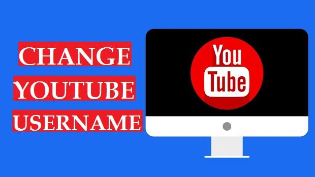 Change YouTube Username