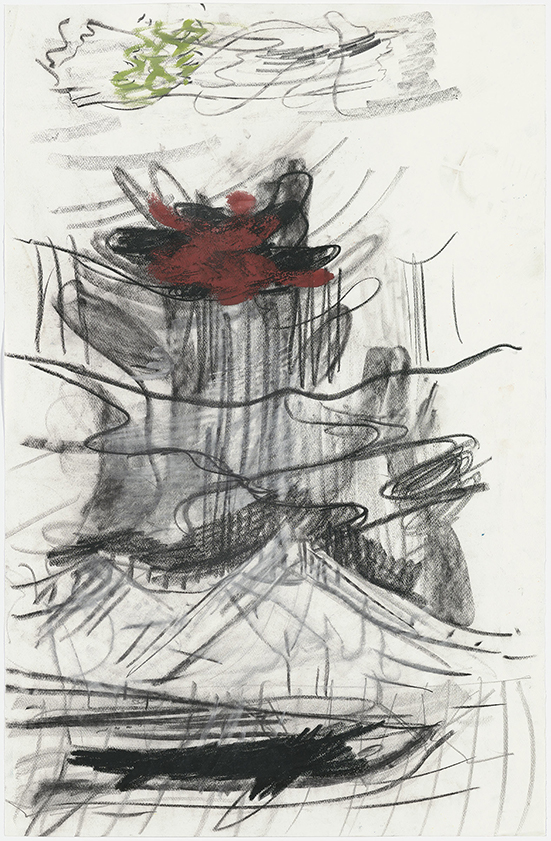 Per Kirkeby Untitled, ca. 1989-1992 Charcoal, pastel, gouache on paper 100.5 x 65.5 cm