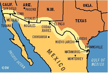 Duners Blog MARCH 2 NEW USA  MEXICO BORDER CROSSING OPENS