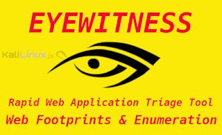 EYEWITNESS Kali Linux