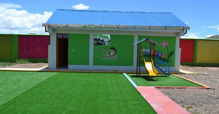 Inauguran moderna infraestructura de la II.EE. Inicial N° 1096 del Centro Poblado de Janansaya, en Quilcapuno, provincia de San Antonio de Putina - DRE Puno
