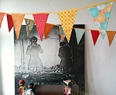Puppilalla, DIY, Bunting