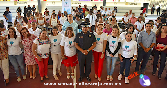 POLICÍA MUNICIPAL DE SOLIDARIDAD SIEMBRA VALORES Y FOMENTA LA EQUIDAD DE GÉNERO