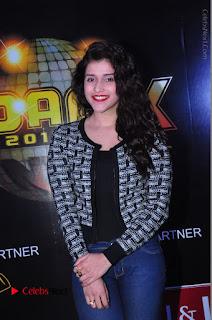 Actress Mannara Chopra Stills in Jeans at Sparx 2017 Curtain Raiser Event  0157.JPG
