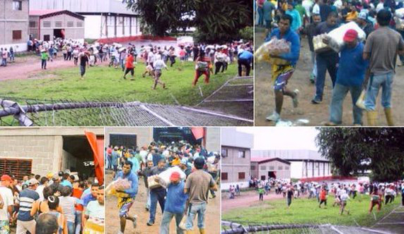 Crise: falta de alimentos provoca confrontos na Venezuela