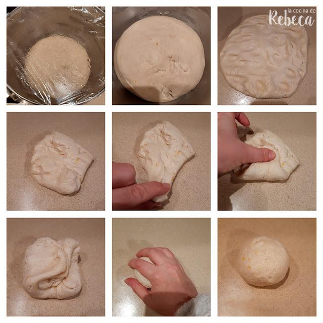 Receta de tortas de manteca: boleado de la masa