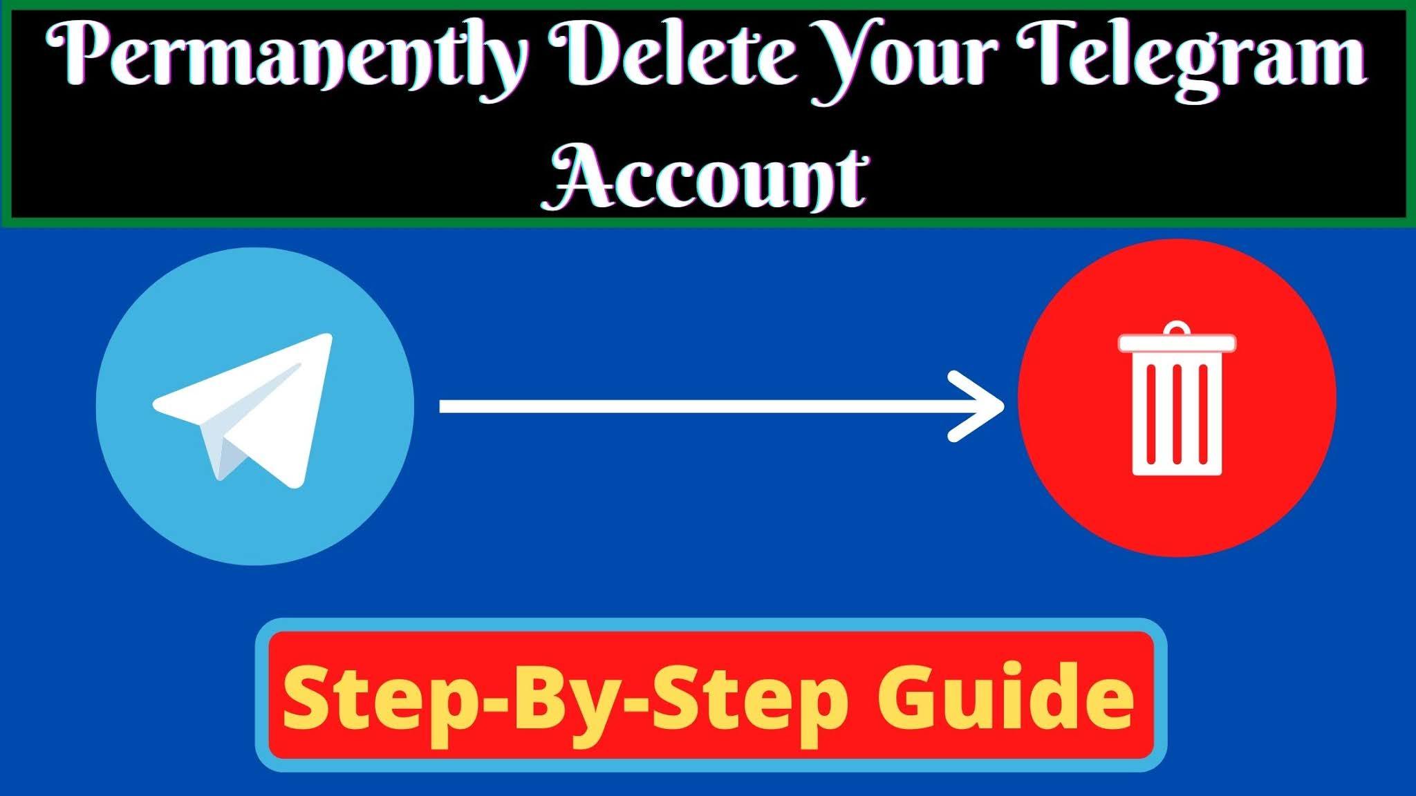 How To Delete Telegram Account ? [Latest]