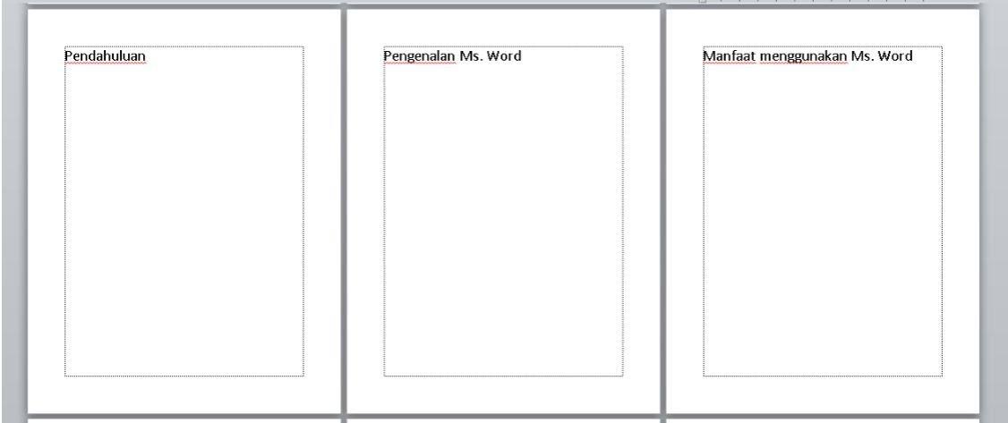Cara Membuat Daftar isi Otomatis Microsoft Word