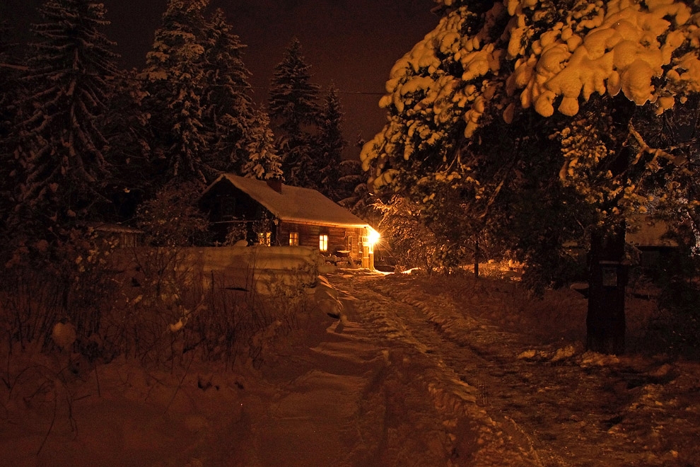 Как выглядит зима в Карелии (11 фото)