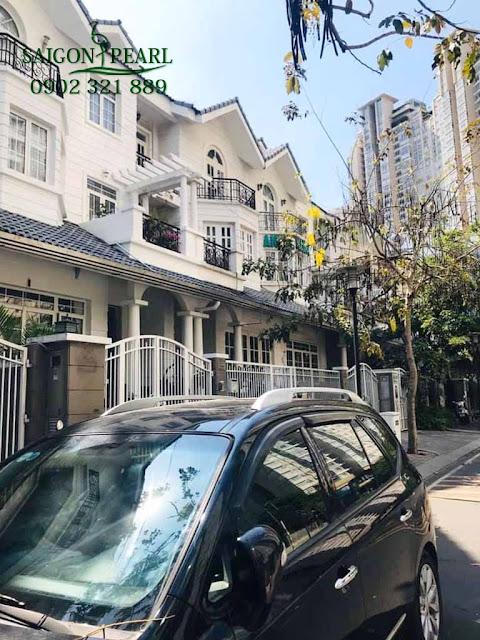 Khu biệt thự tại Saigon Pearl