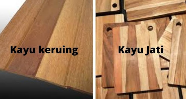 kayu keruing vs kayu jati