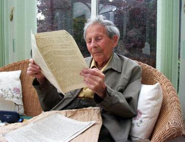 Donald Watson, creador del término veganismo
