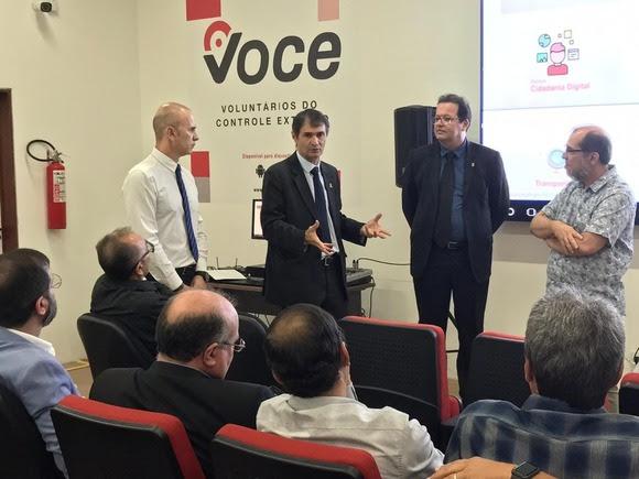 Romero e secretários participam de oficina no TCE-PB sobre novas ferramentas virtuais para acompanhamento e melhoria da gestão