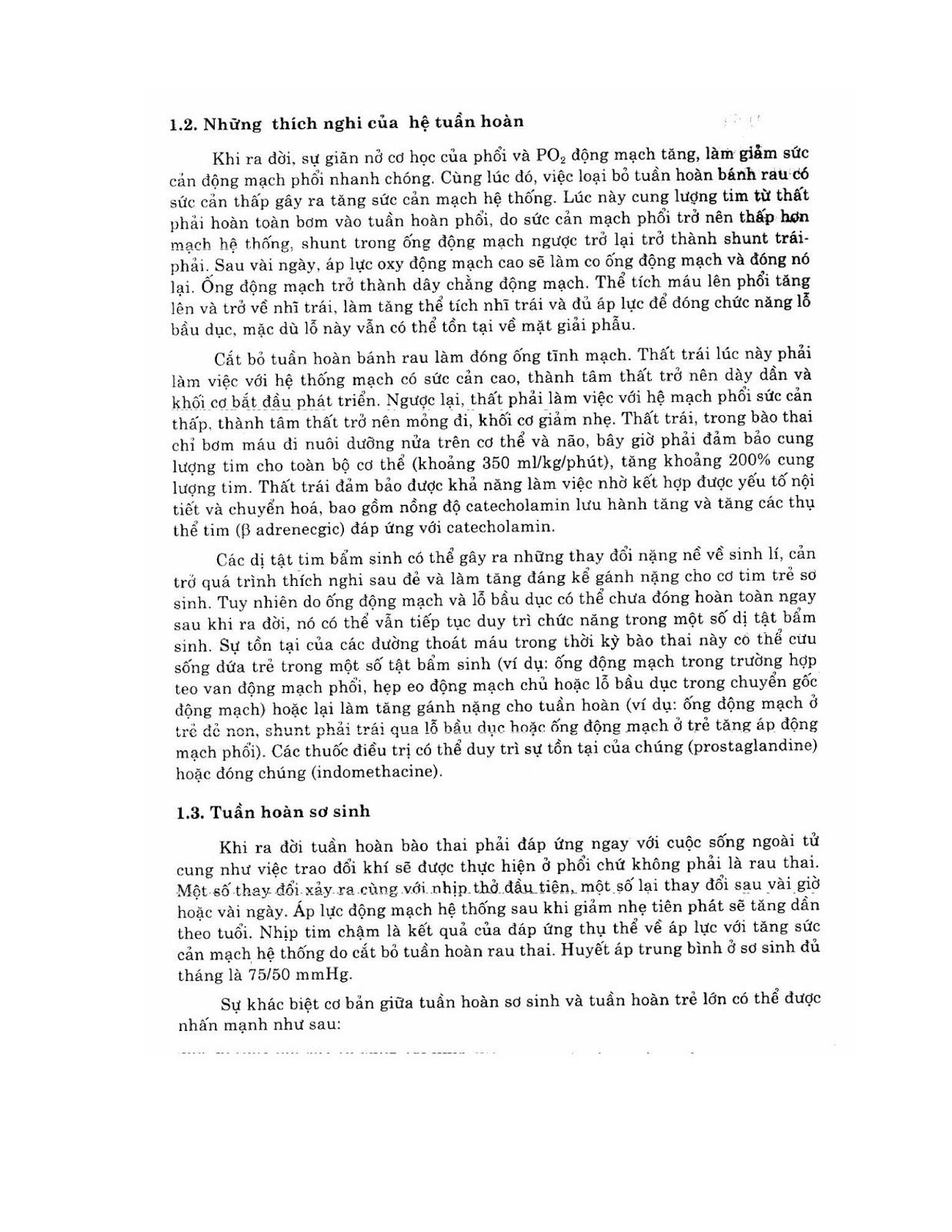 Trang 7 sach Bài giảng Nhi khoa - ĐH Y Hà Nội (Tập 2)