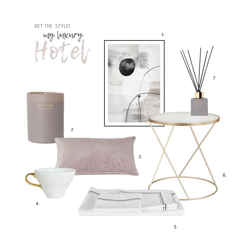 HOW TO GET A TOUCH OF 'LUXURY HOTEL' IN YOUR BEDROOM / CÓMO CREAR UN AMBIENTE DE HOTEL DE LUJO EN TU DORMITORIO
