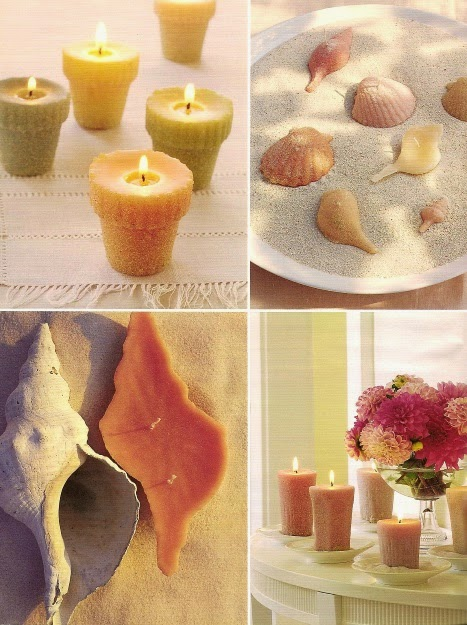 Martha Stewart Shell Candles