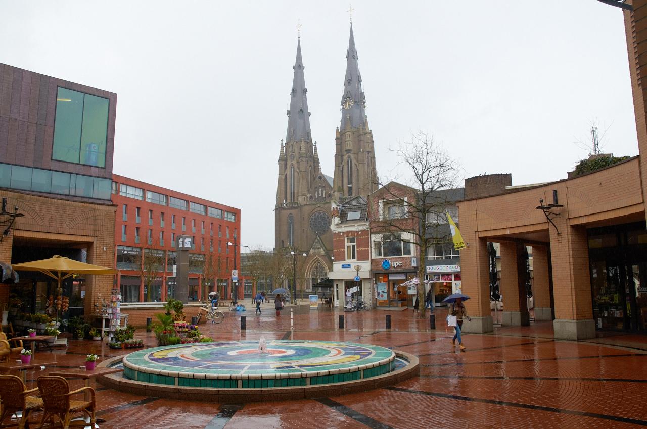 katedra w centrum miasta Eindhoven