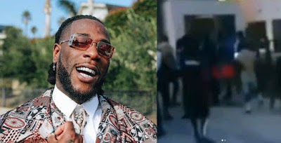 image result for burna boy arrested by police