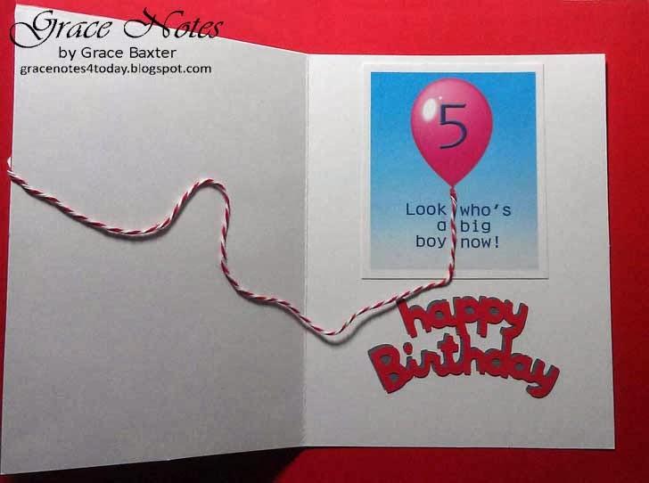 Elmo 5th Birthday, Inside