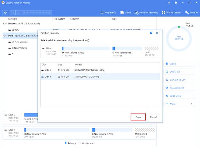 Cara Mengatasi Partisi Hardisk Tidak Terbaca di Windows 10