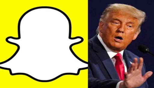 Snapchat Permanently banned President Trump's account
