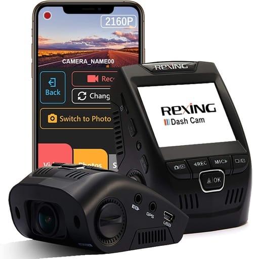 Review Rexing V1-4K Wi-Fi Ultra HD Car Dash Cam