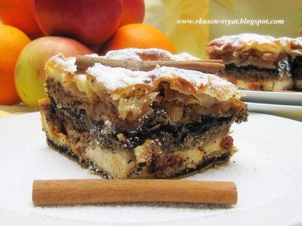 Ме́джимурска ги́баница традиционен хърватски десерт / Mе́jimurska Gibanitsa A Traditional Croatian Dessert
