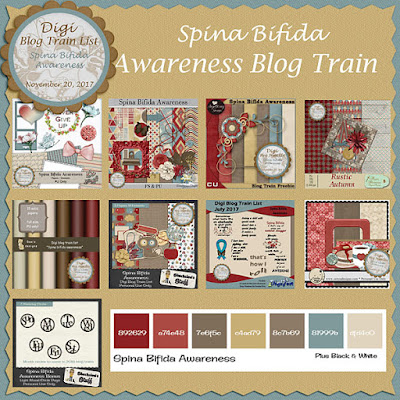 Digi Blog Train List Spina Bifida Awareness Freebie