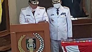 Ketua DPRD Lamtim Pimpin Rapat Paripurna, Acara Pidato Perdana Sambutan Bupati dan Wakil Bupati