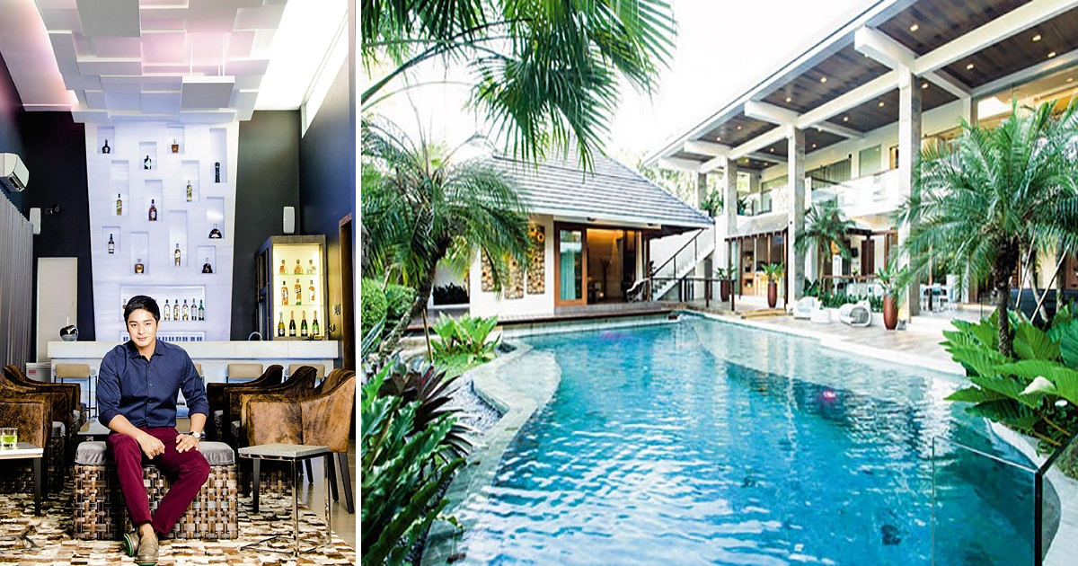 Coco Martin lives in 2,000sqm dream home, complete with his own pool