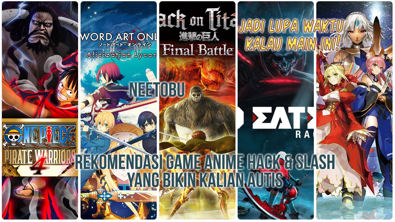 Cover Rekomendasi Game Anime Hack and Slash yang Buat Kamu Ketagihan