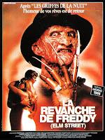 affiche française french poste LA REVANCHE DE FREDDY (A NIGHTMARE ON ELM STREET 2)