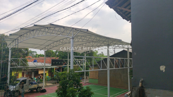 Kanopi, canopy, membran, membrane, murah, jakarta