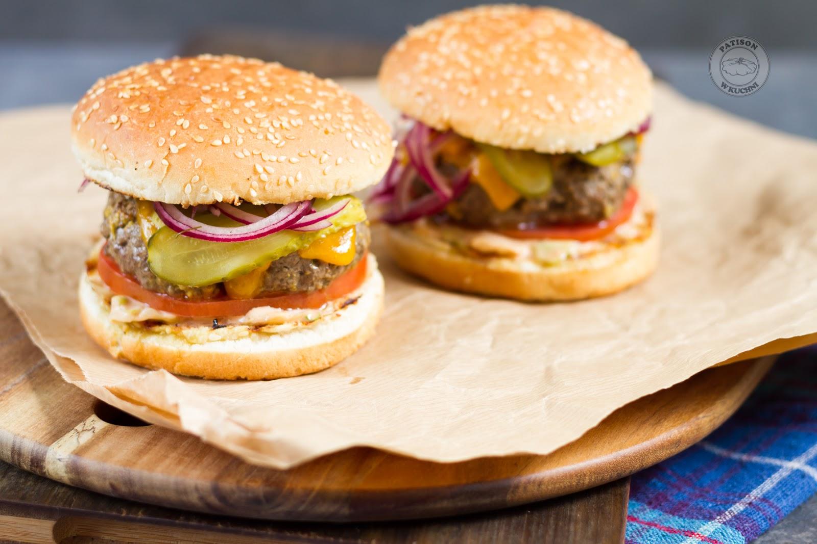 Weekendowe burgery.