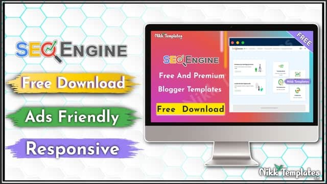 SEO Engine - Faster & Simple Blogger Templates