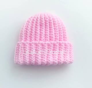 free crochet pattern for a newborn hat for donating to hospitals