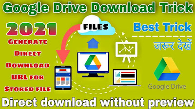Direct download file from Google drive