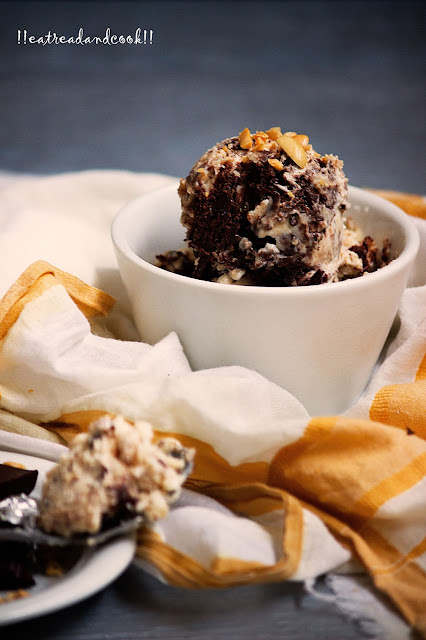 how to make no churn Peanut Butter and Chocolate Chip Ice Cream recipe
