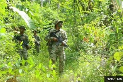 Malaysia mengerahkan tentara ke perbatasan Negara Kesatuan Republik Indonesia