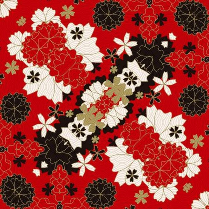 15+ Abstract flower pictures | Red abstract floral designs