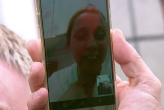 a Facetime call to Karran