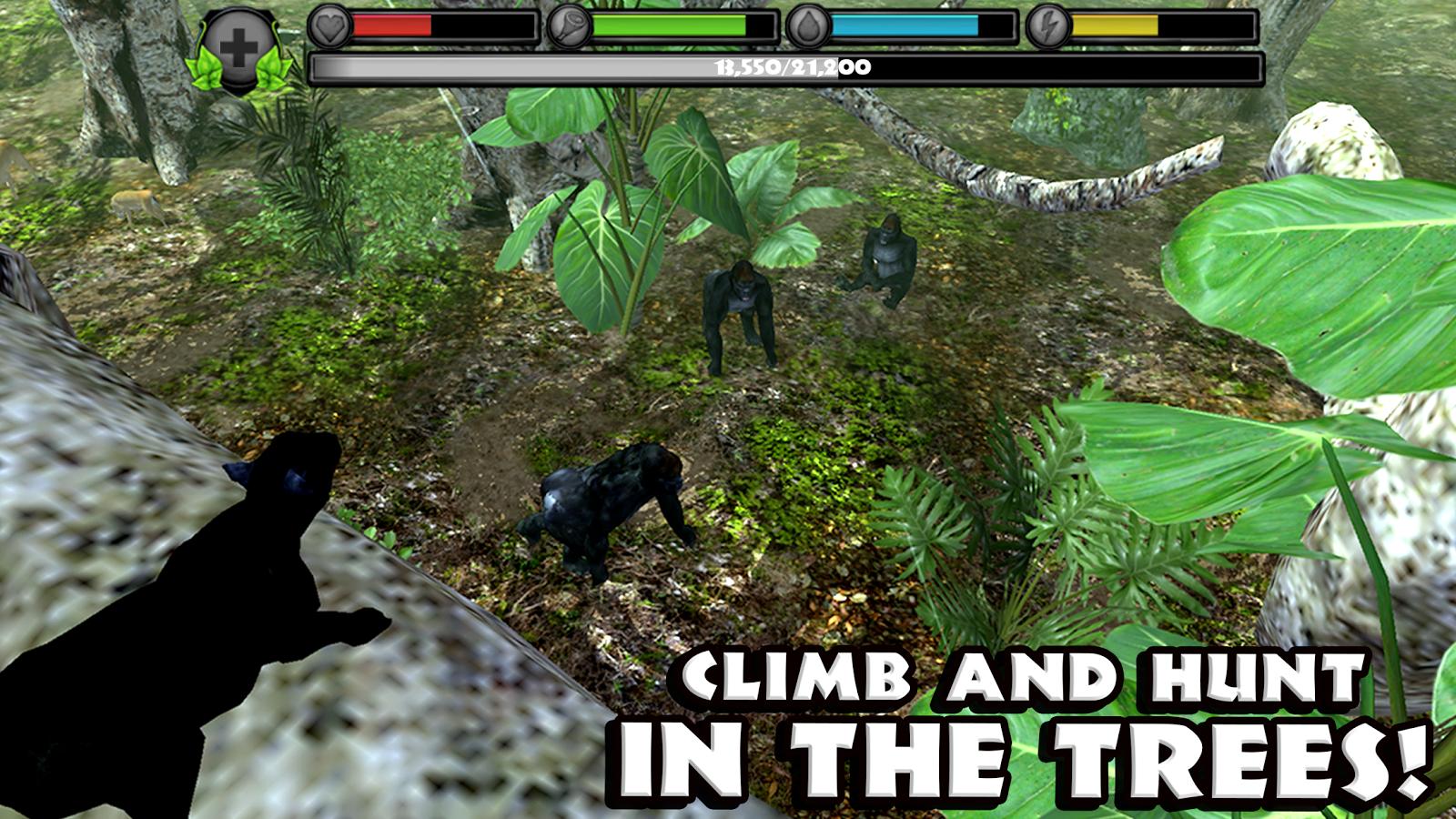 Free Simulator Black Panther Wild