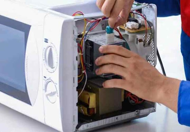 Microwave Oven Servicing with its all Parts Supplying