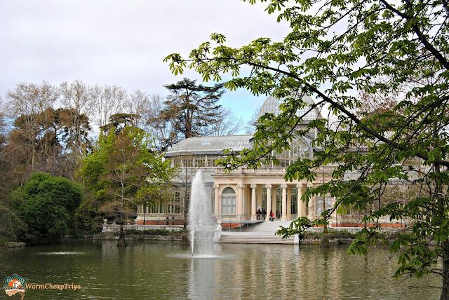 palazo di cristallo, parco del retiro, Madrid, cosa vedere a madrid, itinerario a madrid, due giorni a Madrid, blogger madrid
