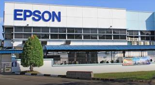 INFO Loker 2020 PT Epson Indonesia Industry ( Operator Produksi Pabrik )    ALAMAT PABRIK : Kawasan Ejip (East Jakarta Industrial Park), PLOT 4E, Cikarang Selatan, Bekasi, Jawa Barat 17550